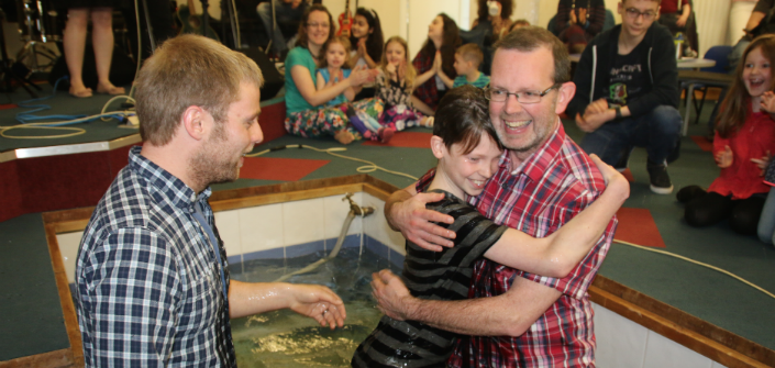 Stories of baptisms