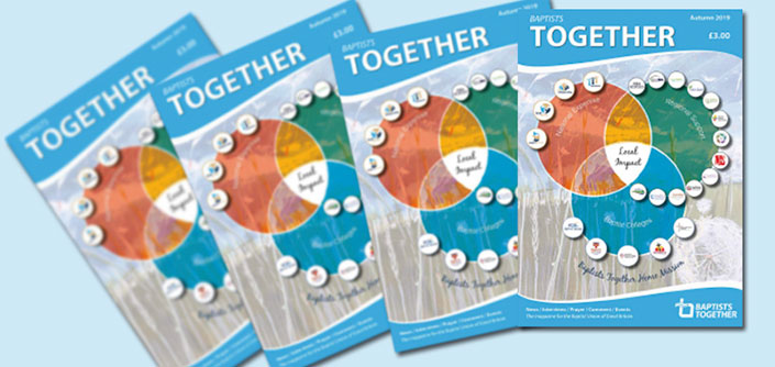 The latest Baptists Together magazine available to view and buy