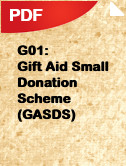 FGA04 Gift Aid - Claim for a T