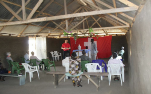 South Sudan Baptist service