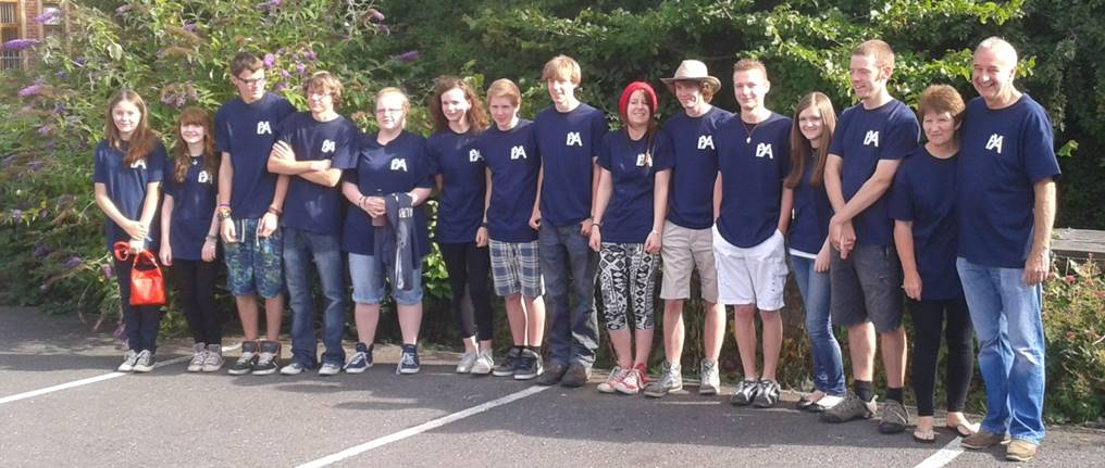 Fleckney Soul Survivor group 2
