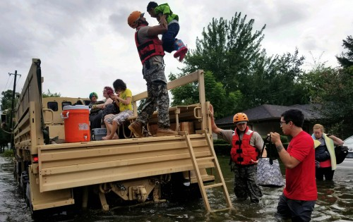 Texas relief efforts