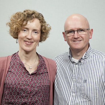 Revs Mark and Clair Ord, the new directors of the International Mission Centre