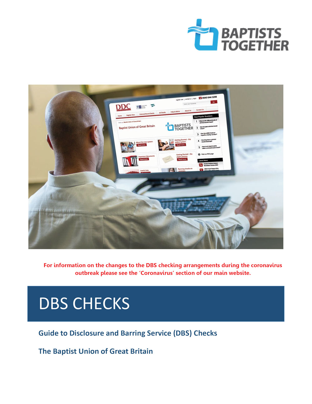 BUGB DBS Check Guide 30March20