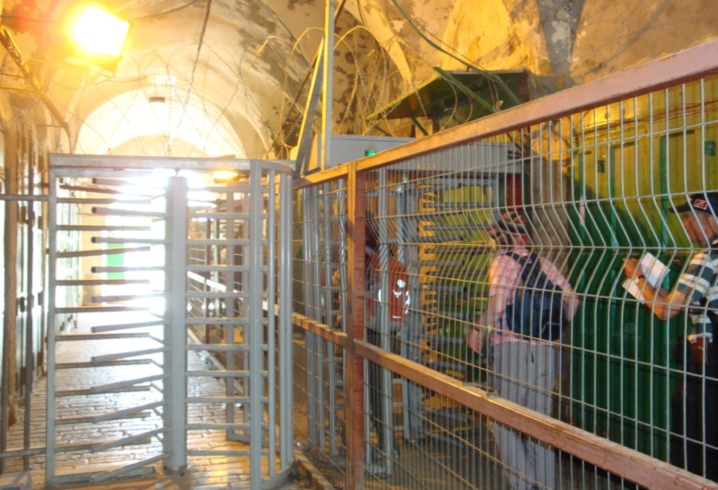 Hebron checkpoint1