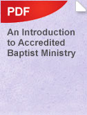 IntroAccredBaptistMinistry