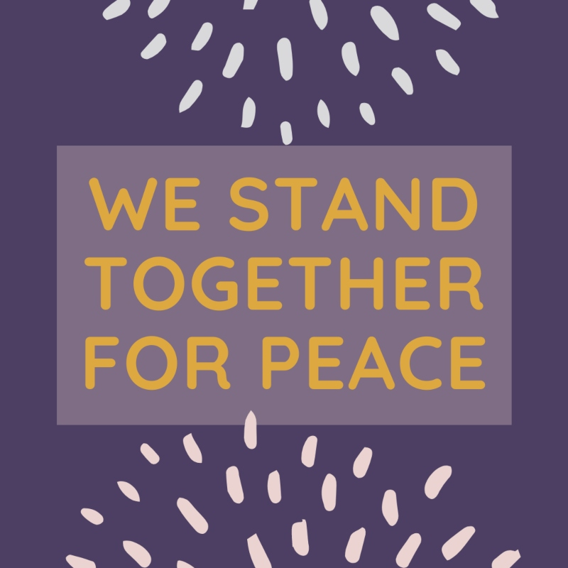 We stand together for peace1