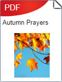 Autumn Prayers