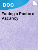 Facing a Pastoral Vacancy