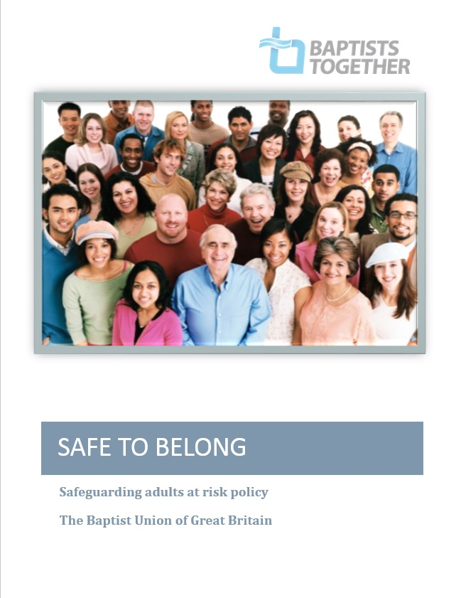 Safe to Belong front cover