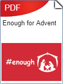 Enough for Advent Bookcover