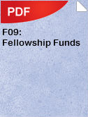 F09 Fellowship Funds
