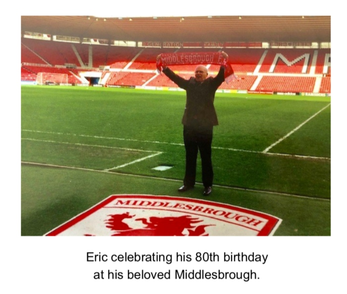 Eric Laing Middlesbrough