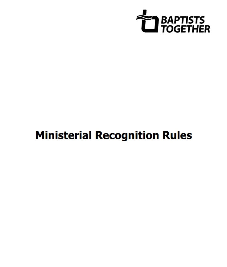 Council Ministerial Recognitio